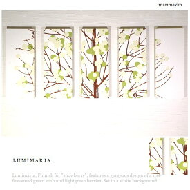 [送料無料] ルミマルヤ ファブリックパネル アリス marimekko LUMIMARJAGREEN 5枚組 50×20cm グリーン ファブリックボード マリメッコ ルミマルヤ LUMIMARJA 品質本位 lumiグリーン5p