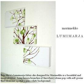 ファブリックパネル 北欧 marimekko LUMIMARJAPINK 40.22.3 LUMIMARJAGREEN 40.22.3 40×22cm 3枚組 各カラー有 ピンク グリーン ファブリックボード [同梱可] ファブリック パネル ファブリック ボード マリメッコ ルミマルヤ LUMIMARJA 品質本位