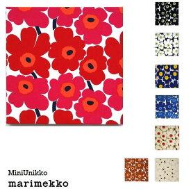 単品 ファブリックパネル アリス marimekko miniunikko 30×30cm 単品販売 各カラー有 赤 青 黒 コットンオレンジ ホワイト ネイビー ナチュラル ブラウン マリメッコ ミニウニッコ 北欧 インテリア