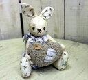 【10月29日入荷しました】マニーリサイクルレースウサギのぬいぐる(羊のマスコット) 【アリスの時間】★
