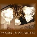 ■ カスタム5灯シーリング+JO3【アリスの時間】★