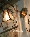 ■【アンティーク照明】HS532-023ウォールランプ 【アリスの時間】★ブラケットライト アンティーク レトロ ガラス 人気 おしゃ…