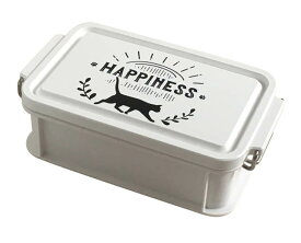 Abeille ランチボックス HAPPINESS コンテナ型 L AJX-1400 大西賢製販 ネコ ねこ