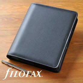 ファイロファックス システム手帳 メトロポール ジップ Metropol Zip A5 Black filofax【楽ギフ_包装】