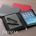 ファイロファックス filofax マイクロファイバー iPad air A5 ノートパッドホルダー 一体型 iPadケース 多機能ホルダー 【楽ギフ_包装】