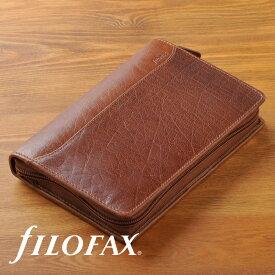 ファイロファックス システム手帳 ロックウッド ジップ Lockwood バイブルサイズ filofax 021692 【楽ギフ_包装】
