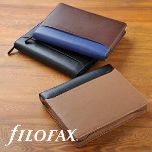 ファイロファックス システム手帳 filofax ナッパ Nappa ジップ A5サイズ