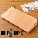 ブリットハウス クラシックゴート L字 長財布 Brit house ヤギ革 山羊革 本革 天然素材 小銭入れ お札入れ …