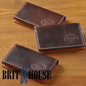ブリットハウス brit house ホーウィン 名刺入れ 名刺ケース カードケース [高級本革][日本製]【楽ギフ_包装】