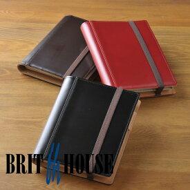 ブリットハウス brit house THEME ガラスレザー A6 手帳カバー ノートカバー [高級本革][日本製] TH-1110 【楽ギフ_包装】