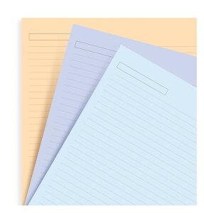横罫アソート A4 ファイロファックス システム手帳 リフィル 293054