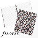 ファイロファックス filofax クリップブック Clipbook パターン Patterns A5サイズ レオパード Leopard ノー…