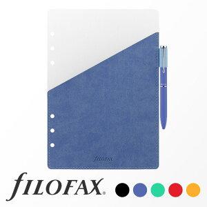 ファイロファックス filofax システム手帳 リフィル ペンホルダー A5サイズ ボールペン付き ギフト プレゼント 贈り物 メンズ レディース