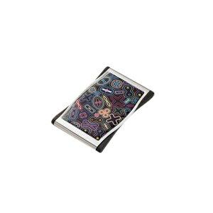 【送料無料】トロイカ [カリム・ラシッド] ビジネスカードケース KARIM RASHID アルミ おしゃれ 柄 カードホルダー 人気の高級 ブランド 名刺入れ カードケース として人気★