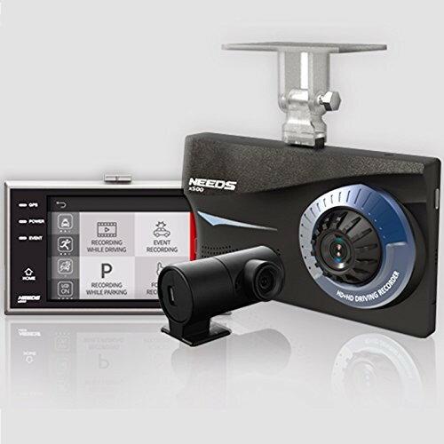 ドライブレコーダー ドラレコ 車載カメラ 前後カメラ 2カメラ GPS対応 駐車監視モード機能付き 夜間対応 夜間雨天対応 3.5インチ タッチスクリーン LCD HDカメラ 1280*720 自動温度遮断機能 NEEDS X600