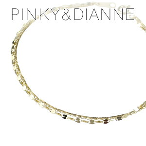 ピンキー&ダイアン エクレアチェーン K10 ゴールドブレスレット 10金 10k ゴールド チェーンブレス レディース 女性 大人 プレゼント 記念日 誕生日 ブランド 人気 彼女 シンプル 上品 きれい