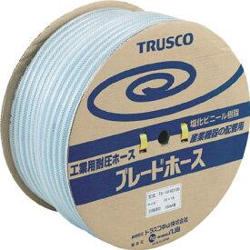 TRUSCO ブレードホース 10X16mm 100m【環境安全用品】【ホース・散水用品】【ホース】