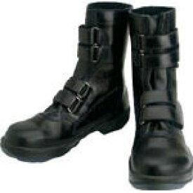 シモン 安全靴 マジック式 8538黒 24.0cm【環境安全用品】【保護具】【安全靴】