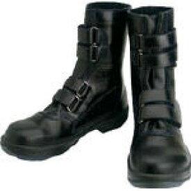 シモン 安全靴 マジック式 8538黒 25.0cm【環境安全用品】【保護具】【安全靴】