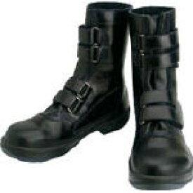 シモン 安全靴 マジック式 8538黒 25.5cm【環境安全用品】【保護具】【安全靴】