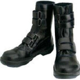 シモン 安全靴 マジック式 8538黒 27.5cm【環境安全用品】【保護具】【安全靴】