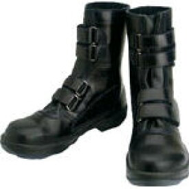 シモン 安全靴 マジック式 8538黒 28.0cm【環境安全用品】【保護具】【安全靴】