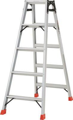 TRUSCO はしご兼用脚立 アルミ合金製脚カバー付 高さ1.40m【工事用品】【はしご・脚立】【脚立】