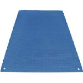 ワニ印 養生敷板 ワニ板(WANIBAN)ブルー 16MM厚1.1M×1.8M【環境安全用品】【シート・ロープ】【養生シート】