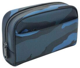 コーチ F29267-MRX ポーチ メンズ セカンドバッグ トラベル キット ウィズ カモ プリント ダスクマルチ アウトレット COACH