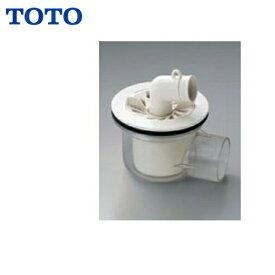 TOTO洗濯機パン用排水トラップPJ001[ABS製透明横引き]