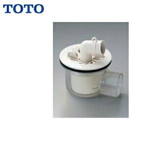 TOTO洗濯機パン用排水トラップPJ001 ABS製透明横引き()