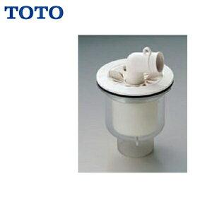 TOTO洗濯機パン用排水トラップPJ002[ABS製透明縦引き]