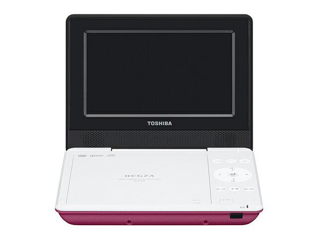 【納期約7〜10日】【送料無料】SD-P710SP ピンク [TOSHIBA 東芝] ポータブルDVDプレーヤー SDP710SP