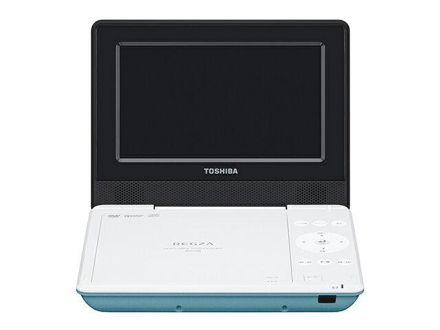 【納期約7〜10日】【送料無料】SD-P710SG グリーン [TOSHIBA 東芝] ポータブルDVDプレーヤー SDP710SG