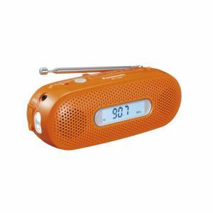 【納期約1ヶ月以上】RF-TJ20-D [Panasonic パナソニック] AM/FMワイド手回し充電ラジオ オレンジ RFTJ20D