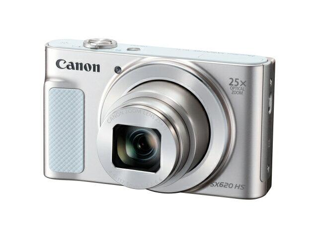 【納期約1〜2週間】【お一人様1台限り】PowerShot SX620 HS(WH) 【送料無料】[CANON キヤノン] コンパクトデジタルカメラ PowerShotSX620HSWH ホワイト
