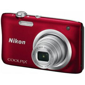 ◆【在庫限り翌営業日発送OK A-8】【お一人様1台限り】A100RD 【送料無料】Nikon ニコン デジタルカメラ 「COOLPIX(クールピクス)」 A100 レッド