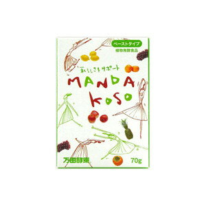 万田酵素 MANDA KOSO ペーストタイプ28包 70g