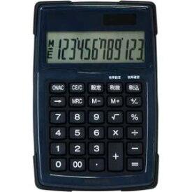 【納期約2週間】ECD-WR01BL ナカバヤシ 電卓デスクトップ防水タイプS ブルー ECDWR01BL