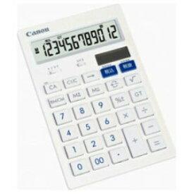 【納期約1〜2週間】HS-121TSOB CANON キヤノン 卓上電卓 (12桁) HS121TSOB
