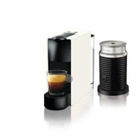 【納期約7〜10日】ネスプレッソ C30WH-A3B 専用カプセル式コーヒーメーカー 「エッセンサ・ミニ」 バンドルセット ピュアホワイトC30WHA3B