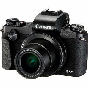 【お一人様1台限り】【納期約2週間】Canon キヤノン PSG1XMK3 コンパクトデジタルカメラ PowerShot(パワーショット) G1 X Mark III PSG1XMK3