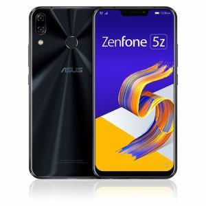 【2018年6月下旬発売予定】 ZS620KL-BK128S6 [ASUS エイスース] SIMフリースマートフォン Zenfone 5Z 128GB シャイニーブラック ZS620KLBK128S6
