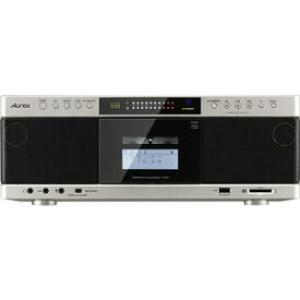 【納期約1ヶ月以上】TY-AK1(N)[TOSHIBA 東芝] ハイレゾ音源対応 Aurexシリーズ SD/USB/CDラジオカセットレコーダー サテンゴールド TYAK1N