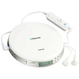◆【在庫あり翌営業日発送OK F-1】TOSHIBA 東芝 TY-P3-W Bluetooth対応スピードコントロール付ポータブルCDプレーヤー TYP3W