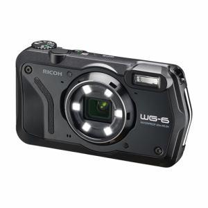 【納期約1〜2週間】RICOH リコー WG-6 コンパクトデジタルカメラ ブラック WG6 BK