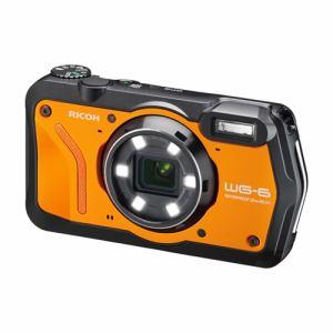【納期約1〜2週間】RICOH リコー WG-6 コンパクトデジタルカメラ オレンジ WG6 OR