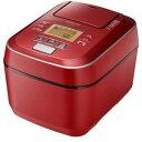 【納期約7〜10日】HITACHI 日立 RZ-V100CM R 圧力&スチームIHジャー炊飯器 ふっくら御膳 5.5合炊き メタリックレッド…