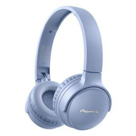 【納期約7〜10日】★★Pioneer パイオニア SE-S3BT(L) ワイヤレスステレオヘッドホン ブルー SES3BTL