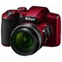【納期約3週間】【お一人様1台限り】Nikon ニコン デジタルカメラ COOLPIX B600 レッド B600RD